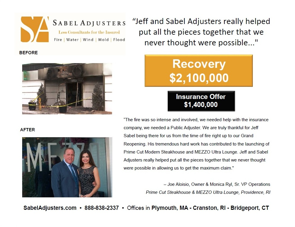 MA public adjuster case study
